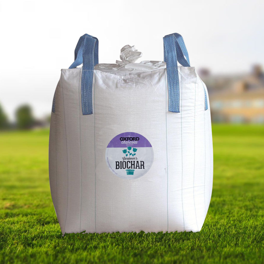 Oxford Biochar bulk bag